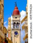 Corfu Town Symbol And Landmark...