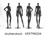 mannequins isolated on white... | Shutterstock . vector #459798334