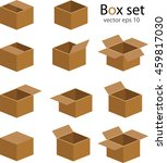 box set vector | Shutterstock .eps vector #459817030