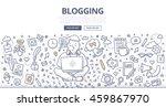 doodle vector illustration of a ... | Shutterstock .eps vector #459867970