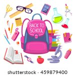 vector colorful illustration of ... | Shutterstock .eps vector #459879400
