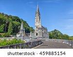 Rosary Basilica In Lourdes ...
