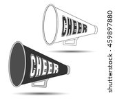 megaphone cheer used by... | Shutterstock .eps vector #459897880
