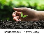 plant a trees   Shutterstock . vector #459912859