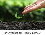 plant a trees | Shutterstock . vector #459912910