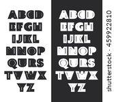 modern black and white bold...   Shutterstock .eps vector #459922810