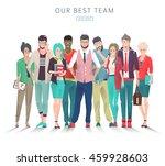modern vector illustration  ... | Shutterstock .eps vector #459928603