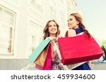 sale  consumerism and people... | Shutterstock . vector #459934600