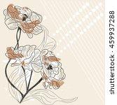 eps10 vector   roses background ...   Shutterstock .eps vector #459937288