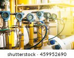 pressure transmitter  and...   Shutterstock . vector #459952690