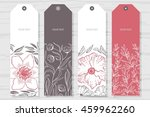 collection rustic labels with...   Shutterstock .eps vector #459962260