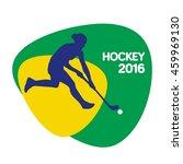 hockey icon  vector illustration | Shutterstock .eps vector #459969130