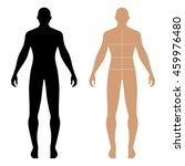 fashion man full length solid... | Shutterstock . vector #459976480
