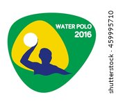 water polo icon  sport icon ... | Shutterstock .eps vector #459995710