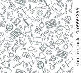 black lines seamless pattern... | Shutterstock .eps vector #459997399