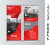 roll up business banner design...   Shutterstock .eps vector #460024180
