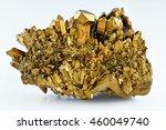 quartz gold titanium aura...   Shutterstock . vector #460049740