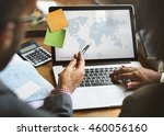 world global business... | Shutterstock . vector #460056160