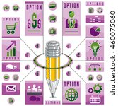 creative infographics concept ...