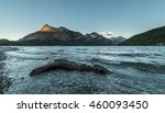 Small photo of Mount Boswell in Waterton Lakes National Park, Alberta, Canada