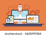 devices data business analysis. ...   Shutterstock .eps vector #460099384