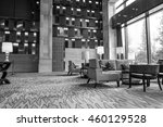luxury lobby interior.with... | Shutterstock . vector #460129528