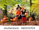 children wearing black and... | Shutterstock . vector #460141924