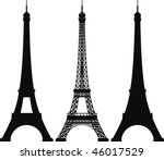 eiffel tower | Shutterstock .eps vector #46017529