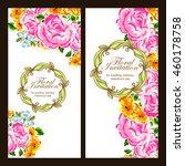romantic invitation. wedding ... | Shutterstock .eps vector #460178758