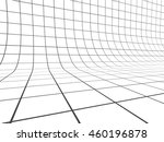 perspective grid line... | Shutterstock . vector #460196878
