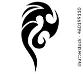 tattoo tribal vector designs... | Shutterstock .eps vector #460199110