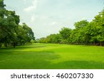 public park in city | Shutterstock . vector #460207330