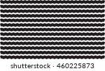 black zig zag wide line pattern ... | Shutterstock .eps vector #460225873