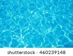 blue ripped water in swimming... | Shutterstock . vector #460239148