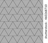 geometric triangle pattern ... | Shutterstock .eps vector #460268710