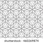 abstract vector seamless... | Shutterstock .eps vector #460269874