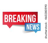 breaking news icon vector | Shutterstock .eps vector #460280590