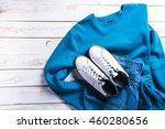 cool fashion casual men outfit... | Shutterstock . vector #460280656