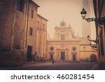 view of the street in ancient... | Shutterstock . vector #460281454