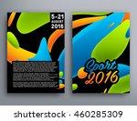 summer sport 2016 concept... | Shutterstock .eps vector #460285309