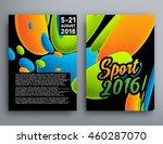 summer sport 2016 concept... | Shutterstock .eps vector #460287070