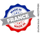 made in france vector seal... | Shutterstock .eps vector #460299484
