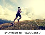 healthy young woman trail... | Shutterstock . vector #460305550