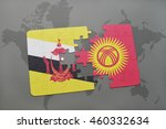 puzzle with the national flag... | Shutterstock . vector #460332634