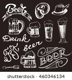 octoberfest. vector  beer... | Shutterstock .eps vector #460346134