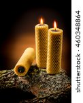candles made from natural...   Shutterstock . vector #460348864