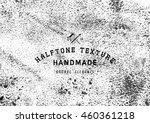 halftone dots vector texture... | Shutterstock .eps vector #460361218