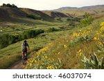 boise  idaho mountain biking | Shutterstock . vector #46037074
