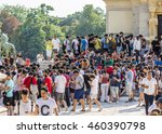 madrid  spain   july 28  2016 ... | Shutterstock . vector #460390798