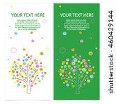 set of brochures with color...   Shutterstock .eps vector #460429144